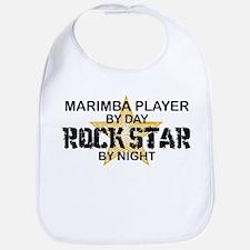 Marimba Player Rock Star Bib