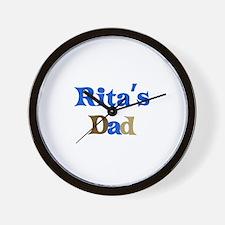 Rita's Dad Wall Clock
