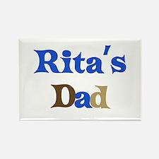 Rita's Dad Rectangle Magnet