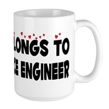 Belongs To An Aerospace Engineer Mug