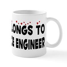 Belongs To An Aerospace Engineer Mug