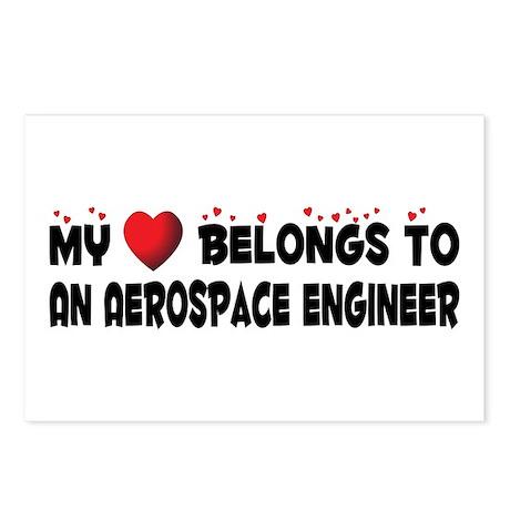 Belongs To An Aerospace Engineer Postcards (Packag