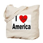 I Love America Tote Bag