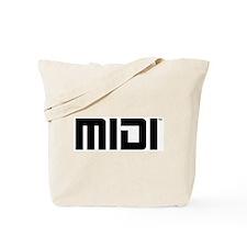 MIDI Logo Tote Bag