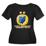 Ohio Assault Team Women's Plus Size Scoop Neck Dar