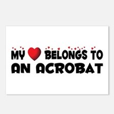 Belongs To An Acrobat Postcards (Package of 8)