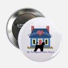 """Portuguese Water Dog 2.25"""" Button (10 pack)"""