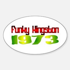 Funky Kingston 1973 Decal