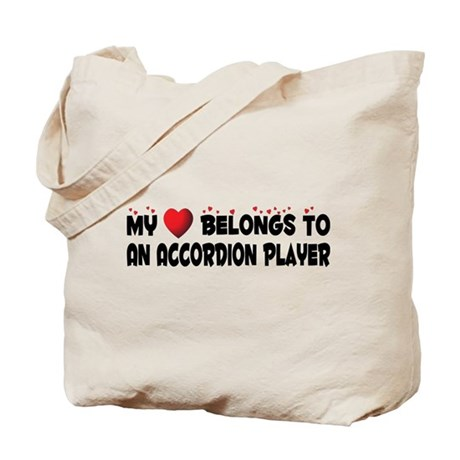 Belongs To An Accordion Player Tote Bag
