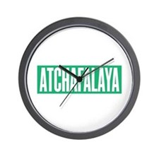 Atchafalaya Wall Clock