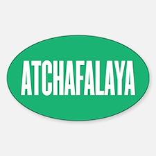 Atchafalaya Sticker (Oval)