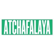 Atchafalaya Bumper Bumper Sticker