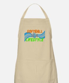 Softball is a lifestyle BBQ Apron