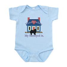 Samoyed Home Is Infant Bodysuit