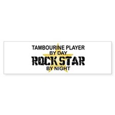 Tambourine Player Rock Star Bumper Stickers