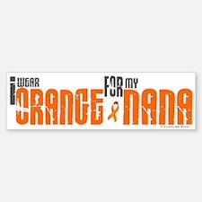 I Wear Orange For My Nana 6 Bumper Bumper Bumper Sticker