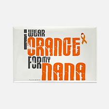 I Wear Orange For My Nana 6 Rectangle Magnet