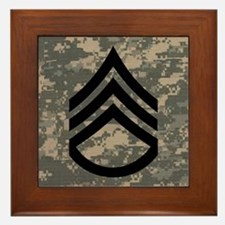 Staff Sergeant Framed Tile 4