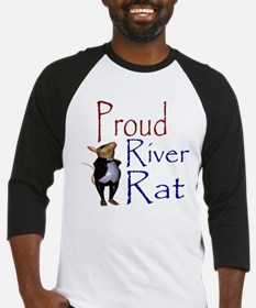 Proud River Rat Poker Baseball Jersey