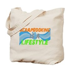 Scrapbooking is a lifestyle Tote Bag