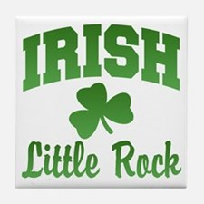 Little Rock Irish Tile Coaster