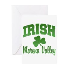 Moreno Valley Irish Greeting Card