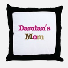 Damian's Mom Throw Pillow
