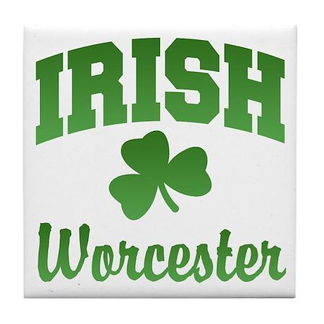 Worcester Irish Tile Coaster