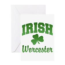 Worcester Irish Greeting Card