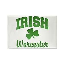 Worcester Irish Rectangle Magnet