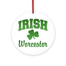 Worcester Irish Ornament (Round)