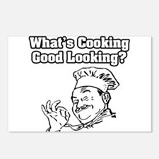 """""""What's Cooking Good Looking"""" Postcards (Package o"""