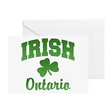 Ontario Irish Greeting Card