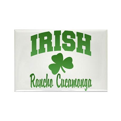 Rancho Cucamonga Irish Rectangle Magnet