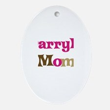 Darryl's Mom Oval Ornament