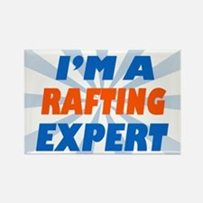 im a rafting expert Rectangle Magnet
