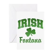 Fontana Irish Greeting Card