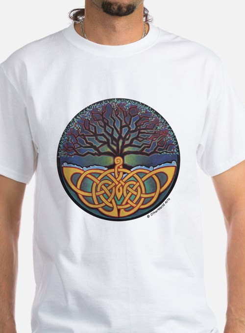 World Tree T-shirt (White)