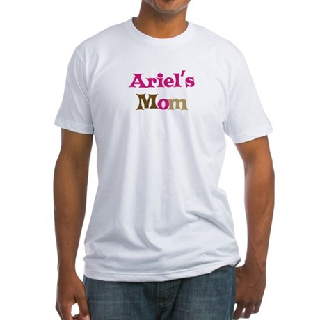 Ariel's Mom Fitted T-Shirt