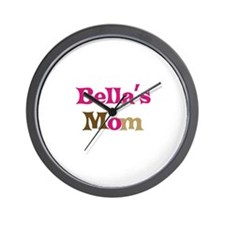 Bella's Mom Wall Clock