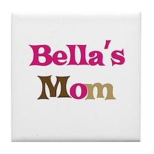 Bella's Mom Tile Coaster