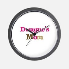 Dwayne's Mom Wall Clock