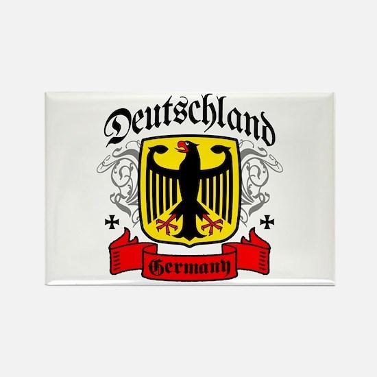 Deutschland Coat of Arms Rectangle Magnet