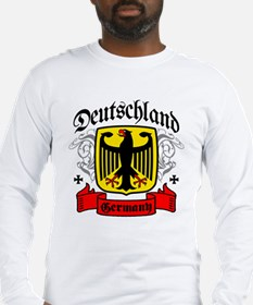 Deutschland Coat of Arms Long Sleeve T-Shirt