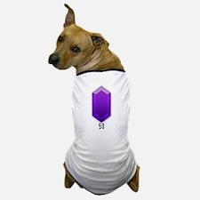 Purple Rupee (50) - Dog T-Shirt