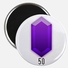 Purple Rupee (50) - Magnet