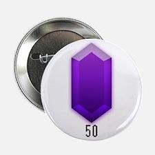 Purple Rupee (50) - Button