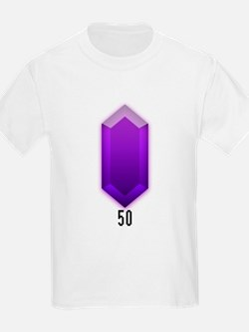 Purple Rupee (50) - Kids T-Shirt