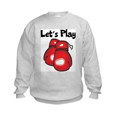 Let's Play Boxing Sweatshirt