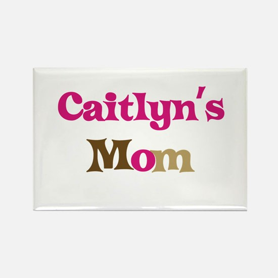 Caitlyn's Mom Rectangle Magnet